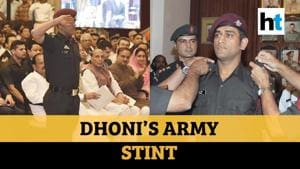 When MS Dhoni undertook patrolling duties with Indian Army in Kashmir