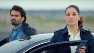Dangerous review: Karan Singh Grover and Bipasha Basy play former lovers in this new web show.