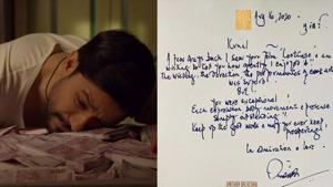 Lootcase actor Kunal Kemu has received a handwritten note from Amitabh Bachchan.