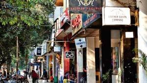 South Delhi Municipal Corporation has proposed a redevelopment plan for Mehar Chand Market(Amal KS/HT Photo)