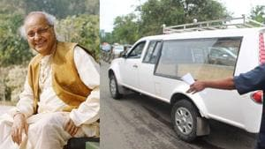 Pandit Jasraj's body has reached Mumbai from New Jersey.(Varinder Chawla/HT)