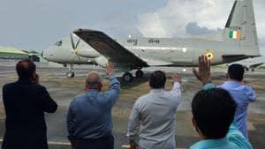 Satya Pal Malik jets off to his new home Meghalaya on Aug 19, 2020. (HT Photo)