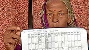 Leela Devi is one of the many beneficiaries of National Maternity Benefit Schemes (NMBS) under the National Health Mission (NHM) in Bihar's Muzaffarpur district. (HT Photo)