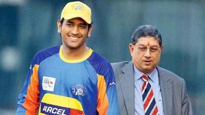 'It is a question of arithmetic': N Srinivasan reveals how CSK bagged Dhoni in IPL auction