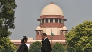 A three-judge bench said any successful resolution applicant for the bankrupt telcos can deny paying the AGR dues after spectrum is transferred under the Insolvency and Bankruptcy Code (IBC).(Sanchit Khanna/HT PHOTO)