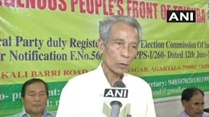 Tripura Revenue Minister NC Debbarma said a probe has been ordered into how the names of a residents of a border village were included in Mizoram's voters list.(ANI)