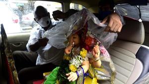 The Maharashtra government has advised people(Anshuman Poyrekar/HT Photo)