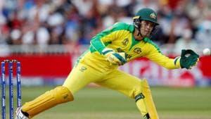 Australia's Alex Carey in action(Action Images via Reuters)
