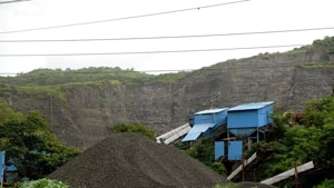 Parsik hills in Navi Mumbai have already been ravaged by large scale quarrying.(HT FILE PHOTO)