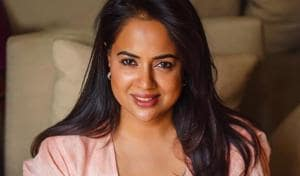 Sameera Reddy said that trying to fit in was exhausting for her.