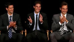Rafael Nadal and Roger Federer are not taking part in the 2020 US Open.(Getty Images)