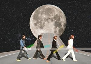 Find sweet escape in the rock 'n' roll fantasy tripping on The Beatles(Photo imaging: Parth Garg)