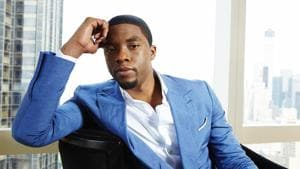 Chadwick Boseman, who played Black icons Jackie Robinson and James Brown before finding fame as the regal Black Panther in the Marvel cinematic universe, has died of cancer.(Dan Hallman/Invision/AP)