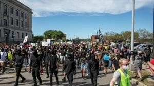 Protesters have taken to the streets in major cities nationwide this summer over the deaths of black people at the hands of police, including George Floyd in Minneapolis in May.(Reuters Photo)