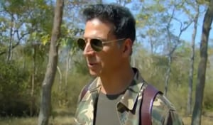 Akshay Kumar will feature in an episode of Bear Grylls' Into The Wild.