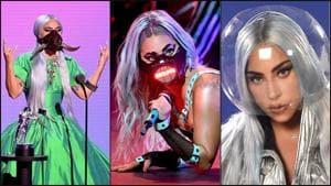 Lady Gaga and her seven OG face masks own VMA(Instagram/ladygaga/el_pais)