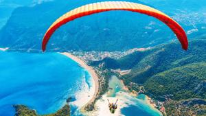 If you are skydiving for the first time, the feeling is more like a whirlwind, says Vicram Sharma.(Freepik)
