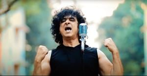 Singer Palash Sen in a still from the new song Ladaaii by the band Euphoria.
