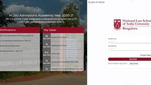 The varsity has decided to conduct the National Law Aptitude Test 2020 on September 12, 2020.(Screengrab)