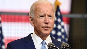 US Democratic presidential nominee and former Vice President Joe Biden(Reuters image)