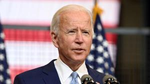 Biden is a white man propelled to the Democratic nomination by Black voters.(Reuters file photo)