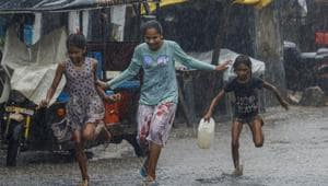 Delhi had received moderate rainfall on August 28, and since then gusty winds have been blowing across the city.(PTI)