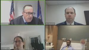 Jacob Blake (bottom right)(Reuters)