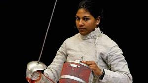 Fencing came to Bhavani accidentally in 2004, when she was ten years old.(HT Photo)