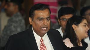 File photo of Reliance chairman Mukesh Ambani(Reuters)