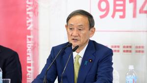 Suga said on Tuesday the biggest job for the new prime minister would be to revive the coronavirus-ravaged economy.(Bloomberg Photo)