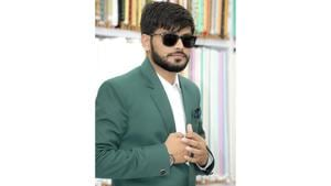 Nakshrajsinh Sisodiya is a young entrepreneur and a top–notch fashion icon at just the age of 25.