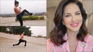 Sunny Leone gives a comical twist to kicking exercises, 'torture' leaves us inspired