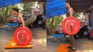 Gauahar Khan encourages fans to 'level up' as she deadlifts in latest fitness video