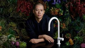 """""""I think the world needs beauty and optimism,"""" said designer Jason Wu(Indtagram @jasonwu)"""