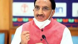Union Education Minister, Dr. Ramesh Pokhriyal 'Nishank' (ANI file)