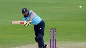 England's Jonny Bairstow in action.(REUTERS)