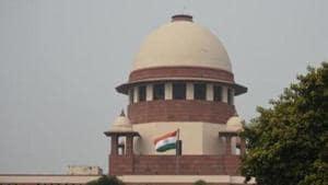 A view of Supreme Court, in New Delhi(Amal KS/HT PHOTO=)