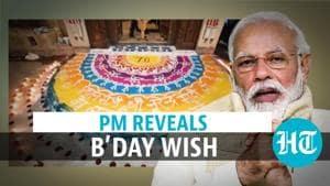 Watch what PM Narendra Modi wants as birthday gift