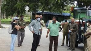 SS Rajamouli and Rama at the Bandipur tiger reserve.