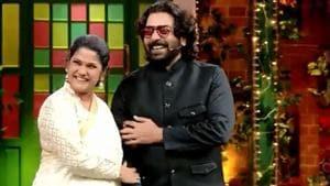 Renuka Shahane and Ashutosh Rana on The Kapil Sharma Show.