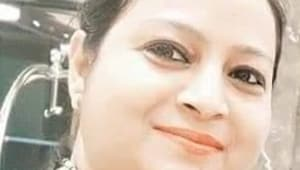 Nivedita Major was riding pillion with her daughter when she was shot dead.(Sourced)