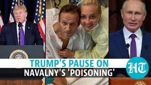 Watch: Trump's long pause over 'poisoning' of Putin rival Navalny; critics slam
