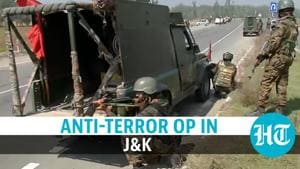 Watch: Terrorist killed in J&K operation by forces, day after attack on CRPF