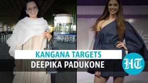 'Depression is a consequence of drug abuse': Kangana's jibe at Deepika Padukone