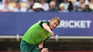 South Africa's Chris Morris.(AFP)
