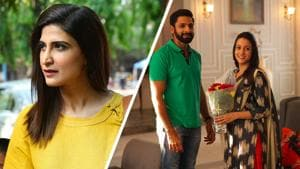 Actors Ahana Kumra, Raima Sen and Vaibhav Tatwawaadi star in 'Forbidden Love'.(ZEE5)