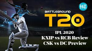 KXIP vs RCB Review and CSK vs DC Preview on Battleground T20
