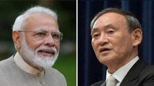 India and Japan have agreed to closely cooperate and develop the 5G and advanced technologies with US and Australia ramping up technological support.(HT Photo)