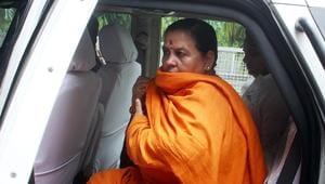 File photo: BJP leader Uma Bharti.(ANI)