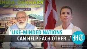 PM Modi discusses global supply chain, Covid with Denmark PM in virtual summit